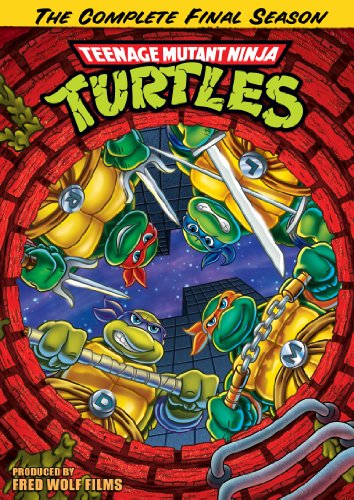 Teenage Mutant Ninja Turtles Season 10: The Complete Final Season DVD $3.74 + Free Shipping w/ Prime or on orders $25+