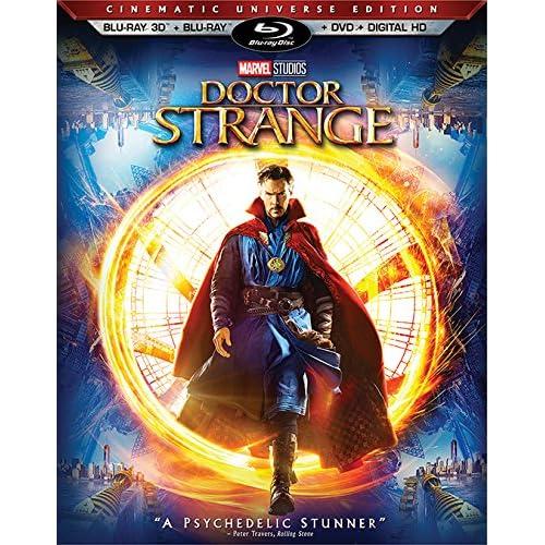 Amazon.com: Doctor Strange 3D [3D Blu-ray / Blu-ray / DVD ...