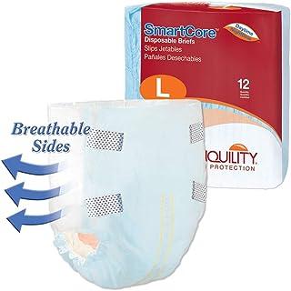 Tranquility SmartCoreTM Adult Disposable Color-Coded Briefs (Large - 12 Count)