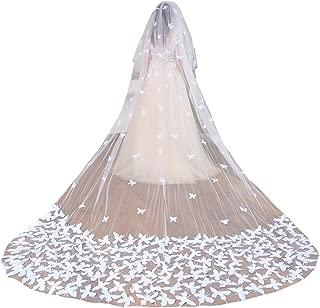 Best butterfly wedding veil Reviews