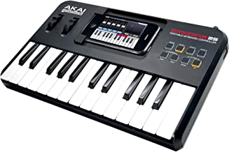 Akai Professional SYNTHSTATION25 25-Key Keyboard Controller For iPhone and iPod Touch