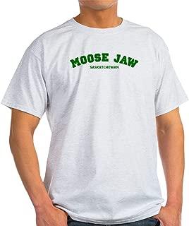 CafePress Moose Jaw Varsity 100% Cotton T-Shirt, White
