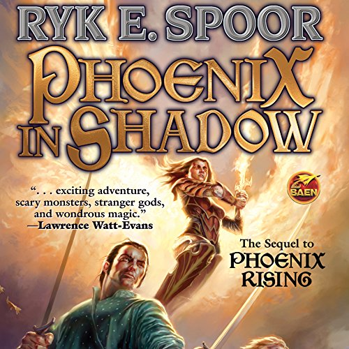 Phoenix in Shadow audiobook cover art