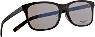Saint Laurent SL288 Slim Eyeglasses 54-19-150 Havana w/Demo Clear Lens 002 SL 288