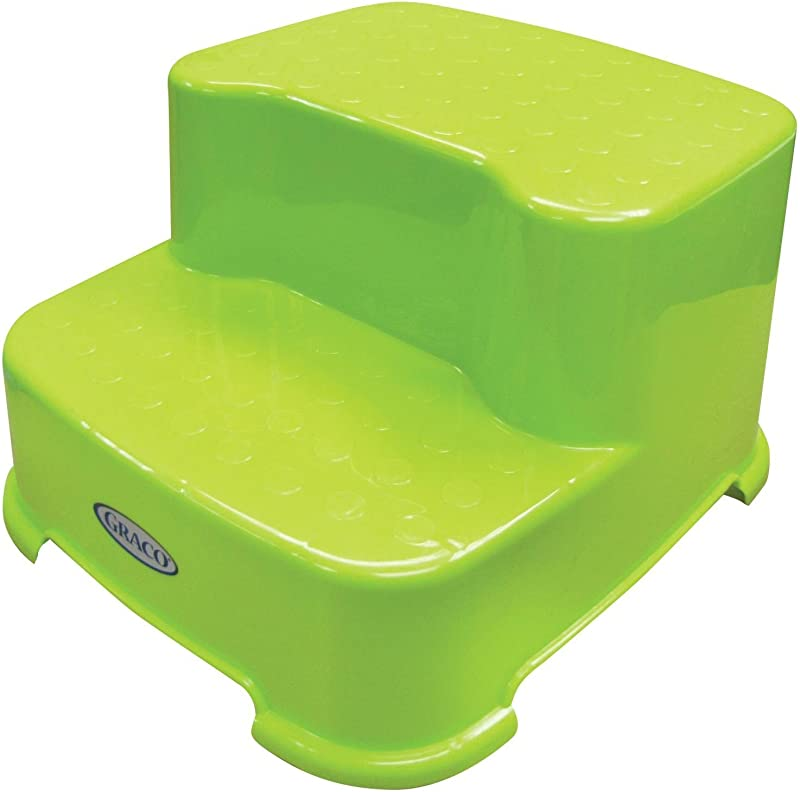 Graco 2 Step Transitions Step Stool Green