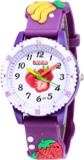 Kidzo Strawberry & Friends Purple Kids Analog Wrist Watch with 3D Strap
