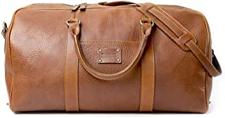 Dust Leather Travel Bag - DU150 (Brown)