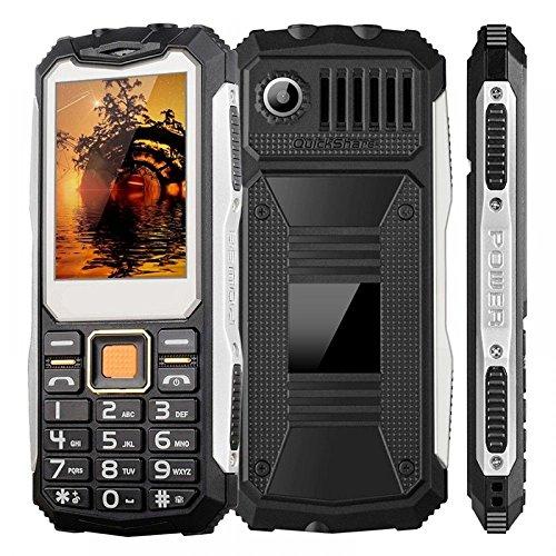 Téléphone antichoc Double Sim Chantier 4 en 1 Etanche Portable Solide