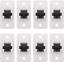 STOBOK 8 stks zelfklevende wielen Caster kartonnen wielen kleine schattige wielen stok op wielen speelgoed mini wielen wie...