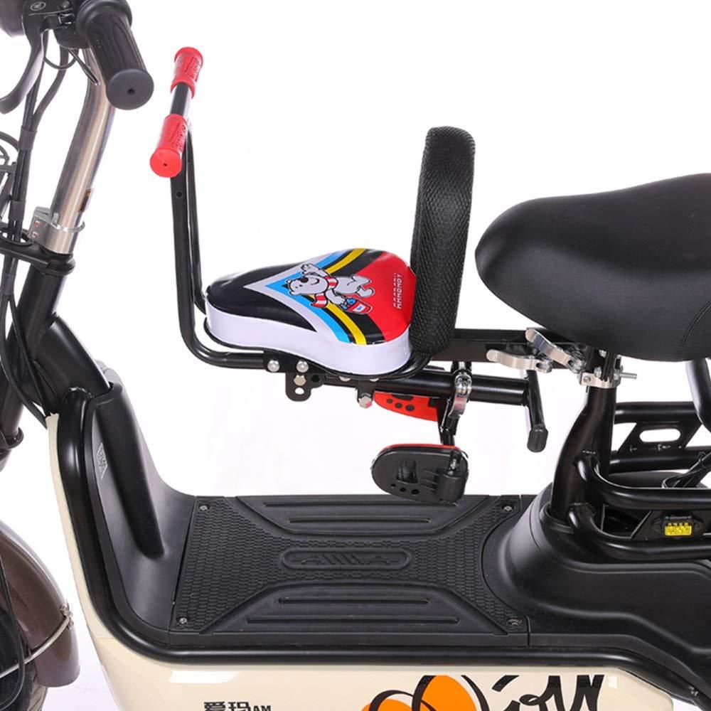 Asiento Bicicleta Niños Bicicleta eléctrica Bebé Asiento delantero ...