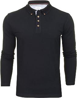 Xact Mens Polo T-Shirt Pique Long Sleeved
