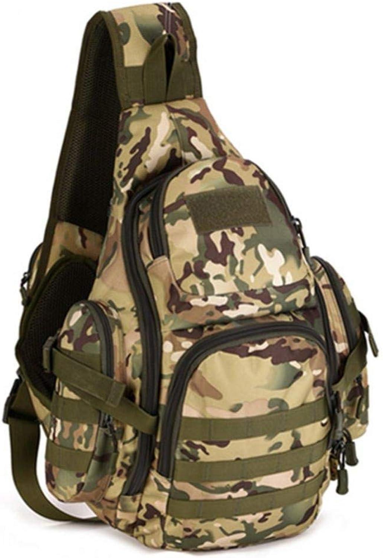 JKLSNMA Wanderschuhe OutdoorCamo Groe Kapazitt Tasche Taktik Brust Pack Wandern Camping Tasche Mann Tasche