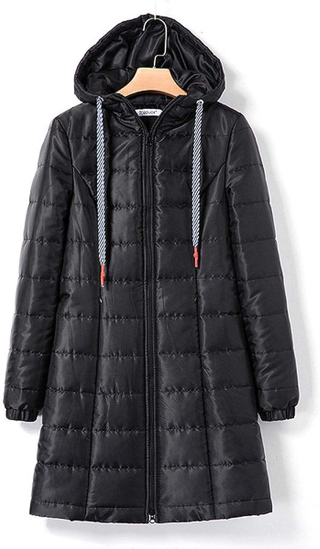 Women Winter Warm Hooded Long Parka Jacket Female Black Slim Cotton Coat Women Outwear