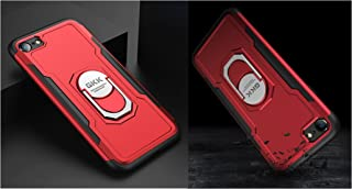 iPhone 7 / iPhone 8 Armor Case Mobile Cover From GKK - Red Cover + 1 Red Cover