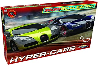 Sponsored Ad - Scalextric Micro Hyper-Cars Race Slot Car Set (1: 64 Scale)