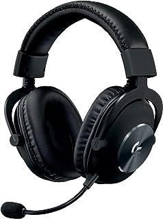 Logitech G Pro Gaming Headset Zestaw Słuchawkowy Do Gier, 1. Pokolenie, Pc - Czarny,981-000812