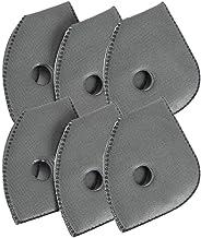 Mask filter, for Active Carbon Filters for Mesh or Neoprene Mask, 6 Pack