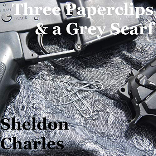 Three Paperclips and a Grey Scarf audiobook cover art