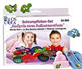 OSCrea Schrumpffolien-Set 'Knöpfe selbstgemacht', Geschenkpackung
