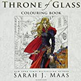 The Throne Of Glass. Colouring Book