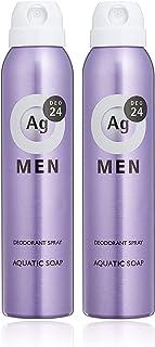 エージーデオ24 【医薬部外品】メンズ デオドラントスプレー アクアティックソープの香り 100g セット ×2個