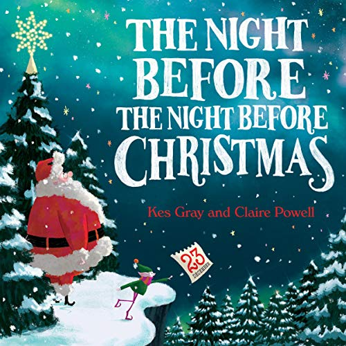 The Night Before the Night Before Christmas audiobook cover art