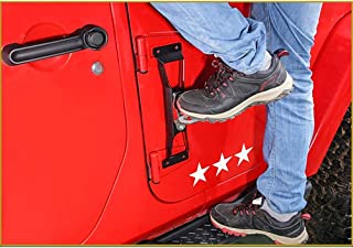 Pedal de Asistencia para el automóvil Gancho Auxiliar Pedal de la Puerta Plegable Puerta del Auto