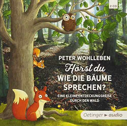 Hörst du, wie die Bäume sprechen?: Eine kleine Entdeckungsreise durch den Wald (2 CD) (Peter & Piet)