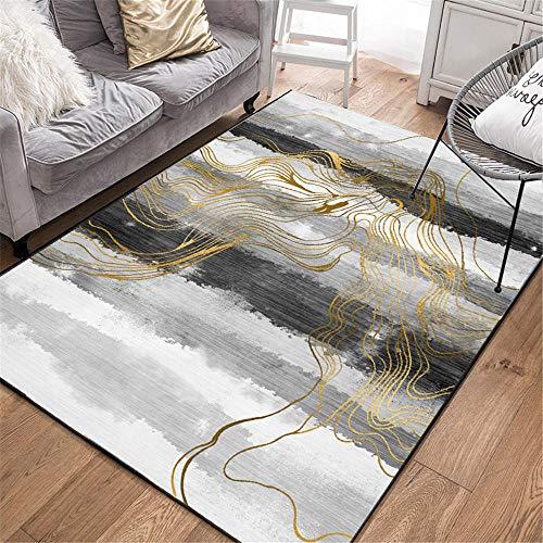 alfombras salon grandes cuadro decoracion habitacion Sala de estar alfombra gris moderna...