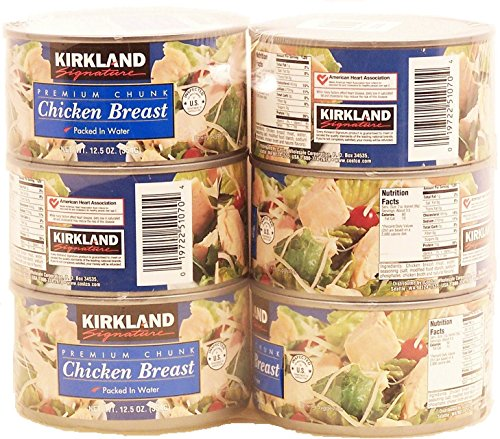 Canned Chicken Breast