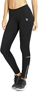 BALEAF Women's Thermal Fleece Tights Athletic Workout Leggings with Pockets for Cycling,  Hiking,  Training,  Gym Sports