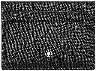 Montblanc Sartorial Tarjetero, 10 cm, Negro (Schwarz)