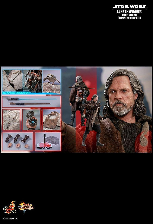 conveniente Hot Juguetes MMS458 MMS458 MMS458 - Estrella Wars   The Last Jedi - Luke Skywalker Deluxe Version  estilo clásico