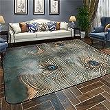 Designer-Teppich Nordic Modern Simplicity Abstrakt Persönlichkeit Geometrie Teppich Wohnzimmer Couchtisch Schlafsofa Nachttisch Teppich mit 5 Farben und 5 Größen ( Farbe : B , größe : 190*240CM )