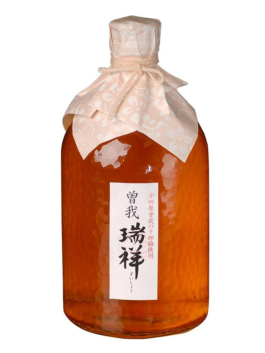 陸軍宣言する硬さ【箱なし】しいの食品 曽我 瑞祥(梅酒) 720ml