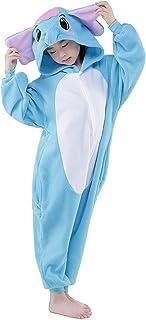 81de6a77c4 ABYED Tutina Unisex Onesies Pigiama Pigiameria Sleepwear Nightclothes  Cosplay Costume Animale Felpato di Carnevale- Ragazzo