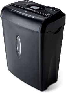 6-sheet Crosscut Shredder with Easy Lift Handle