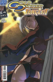 Gold Digger: Tangent #4 VF/NM ; Antarctic comic book
