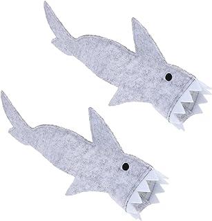 POPETPOP Bearded Dragon Ubrania- 2 Sztuk Lizard Shark Garnitur Kostium Dla Zwierząt Zima Bluzy Z Kapturem Ciepły Płaszcz M...