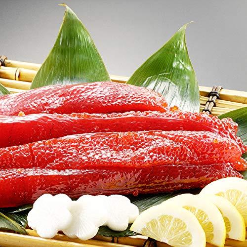 サーモン専門店岩松 2019年新物 天然紅鮭筋子 1kg(塩筋子)