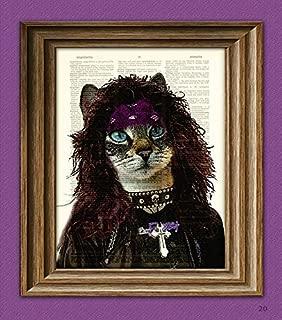 80's Heavy Metal Cat