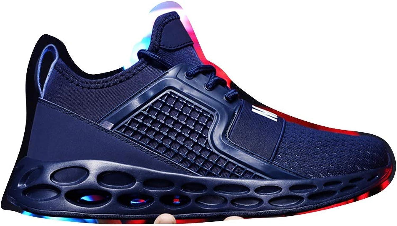 Men's Sports shoes Men's shoes Casual shoes Running shoes Cricket shoes (color   bluee, Size   41)