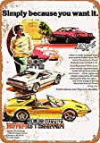Froy 1978 Ferrari 308 Wand Blechschild Retro Eisen Poster