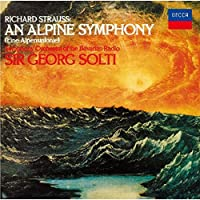 Strauss: An Alpine Symphony (Eine Alpensinfonie) by R Strauss
