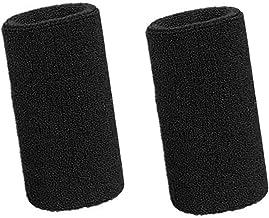 Lvcky zweetband voor de pols, sportarmbanden, elastisch, katoen, 15,2 cm, 2 stuks