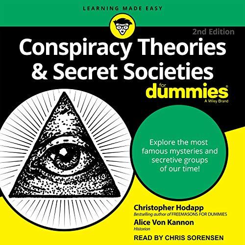 『Conspiracy Theories & Secret Societies for Dummies』のカバーアート