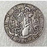 DDTing Mejor Morgan dólares estadounidenses - Hobo níquel moneda -1964 Recolección de monedas-Dólar estadounidense Viejo dólar Morgan original goodService
