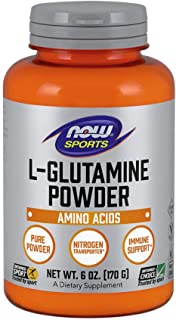 L-Glutamine Powder 6 Oz ( Free Form Amino Acid ) - NOW Foods