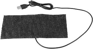 Heating Pad 5V USB Carbon Fiber Heating Mat Mouse Pad Warm Blanket for Neck Shoulder Seat Pet Warmer, 35-45℃, 20 * 10cm