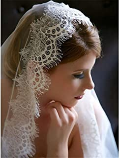 Bridal Veils Wedding Beautiful Long Veil 1T Cathedral 3M Length Bride Accessories With Lace Applique Edge And Crystal Comb...